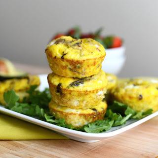 Asparagus and Shiitaki Mushroom Frittatas.