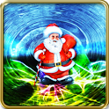 Santa christmas HD Live wallpa icon