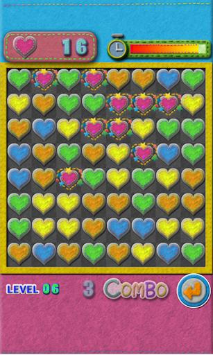 Vanilla's match 3 puzzle