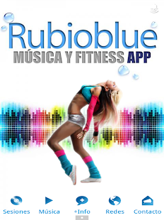 RUBIOBLUE Música y Fitness- screenshot thumbnail