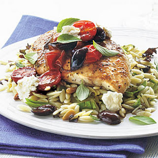 Kalamata-Balsamic Chicken with Feta