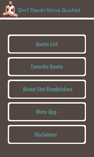 Shri Ramkrishna Quotes