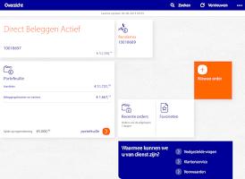 Screenshot of Rabo Beleggen