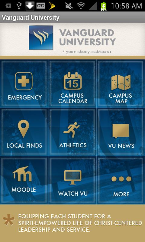 Vanguard University - screenshot