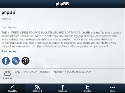 phpBB Resources screenshot 2