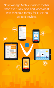 Vonage Mobile® Call Video Text- screenshot thumbnail