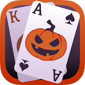 Solitaire Game.Halloween Free
