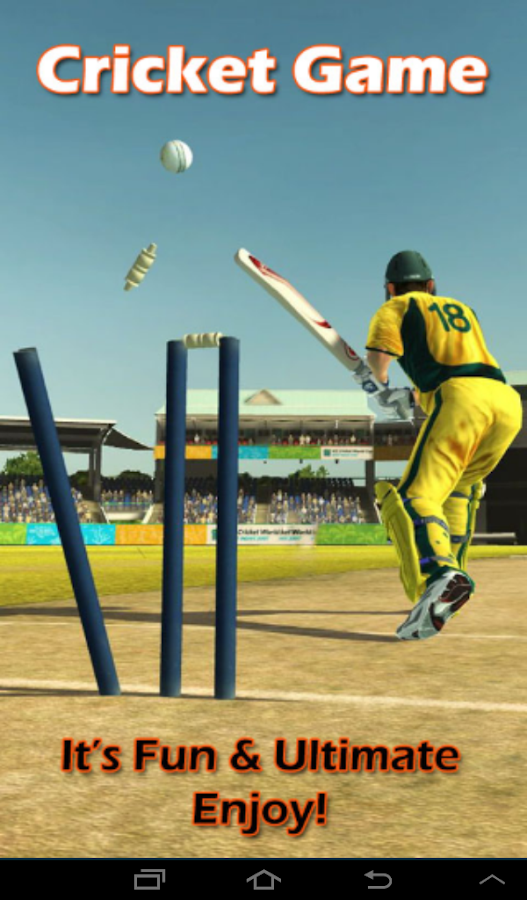 Cricket 2014 - screenshot