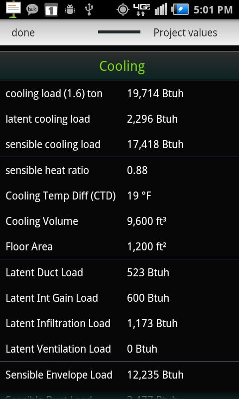 HVAC Buddy® Load Calc- screenshot