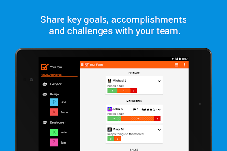 Weekdone - weekly team reports- screenshot thumbnail