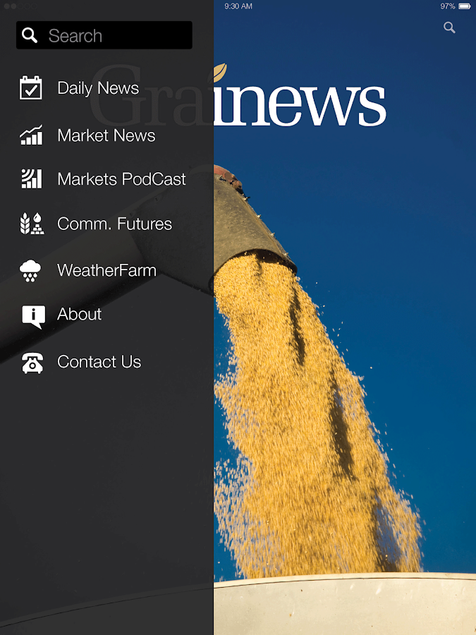 Grainews- screenshot