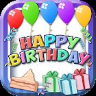 Feliz Aniversário Moldura Foto icon