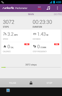 Runtastic Pedometer Step Count- screenshot thumbnail