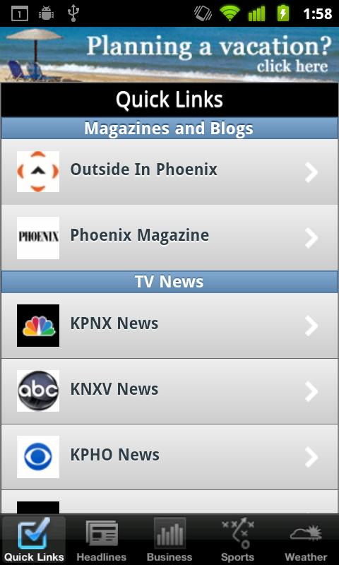 Phoenix Local News - screenshot