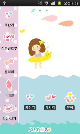 【免費娛樂App】CUKI Theme A feeling OKAYTINA-APP點子
