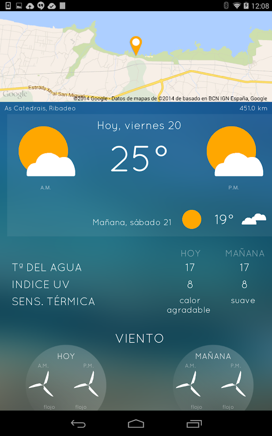 iPlaya: beach weather- screenshot