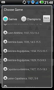 World Chess Champions- screenshot thumbnail