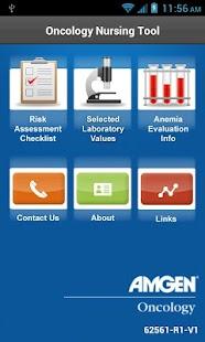 Amgen Oncology Nursing Tool- screenshot thumbnail