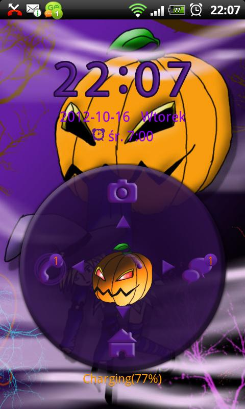 Theme Halloween for GO Locker- screenshot