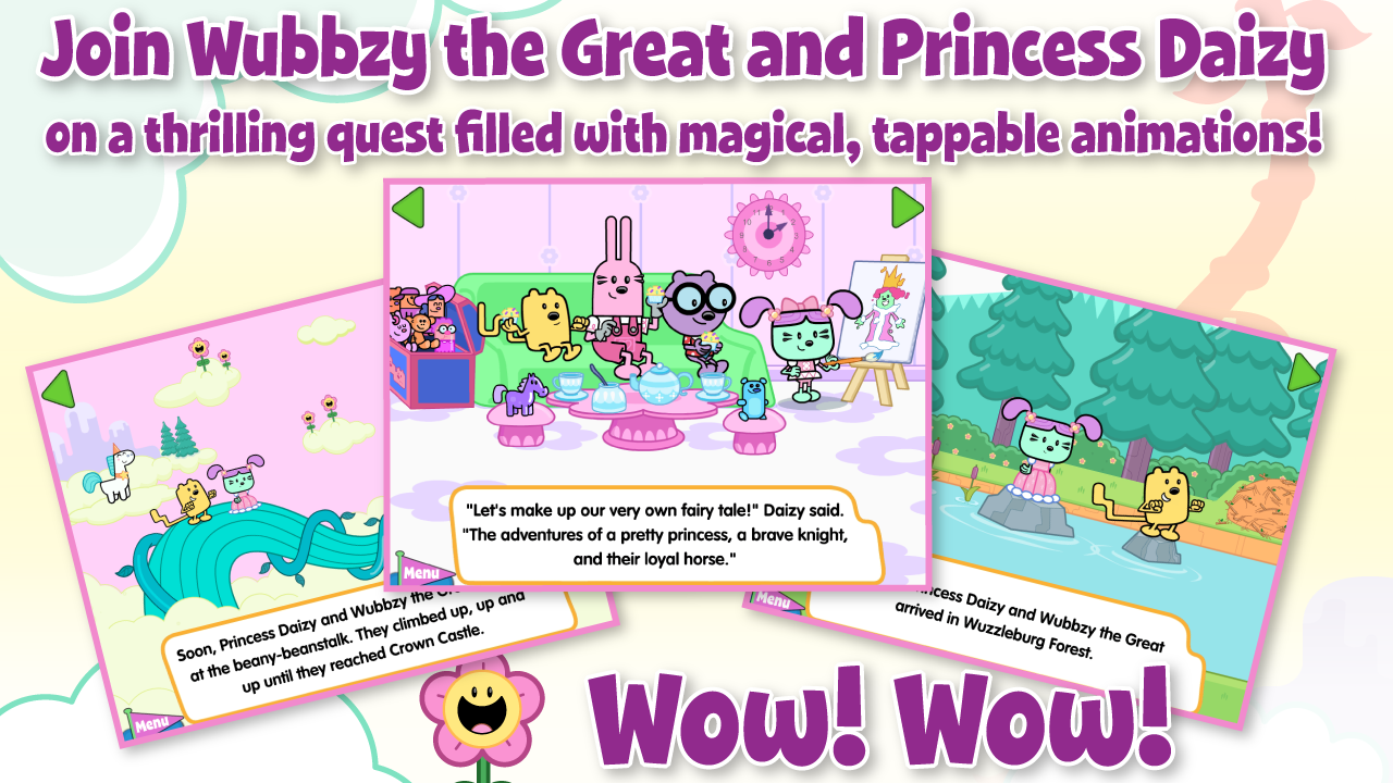 Wubbzy and The Princess- screenshot