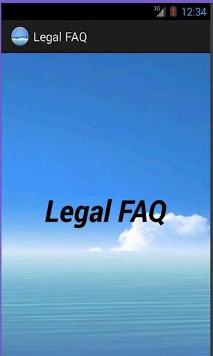 Legal FAQ