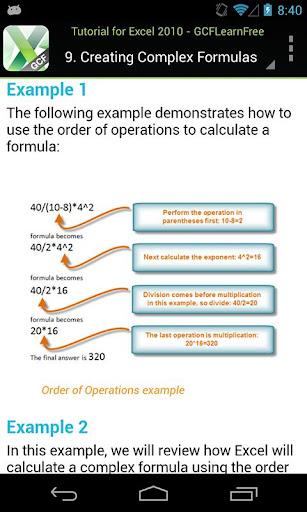 免費下載書籍APP|GCF Excel 2010 Tutorial app開箱文|APP開箱王