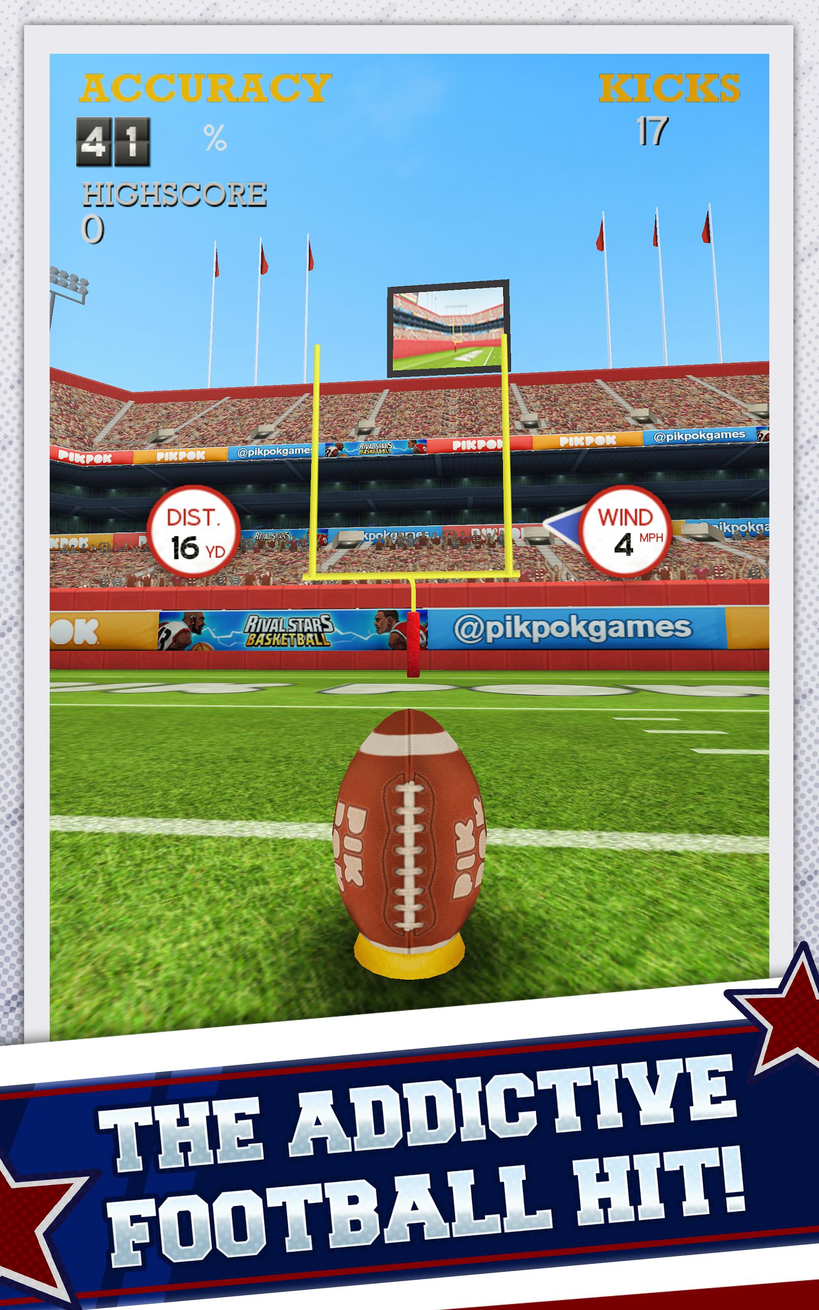 Flick Kick Field Goal Kickoff screenshot #5