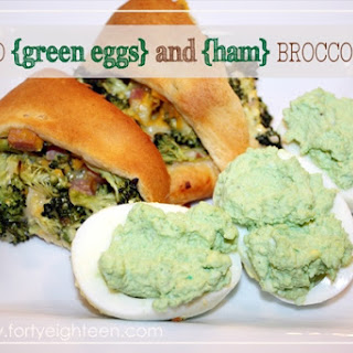 Green Eggs and Ham for Dr. Seuss Day!.