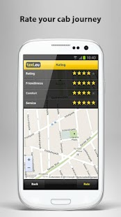 taxi.eu – Taxi App for Europe - screenshot thumbnail