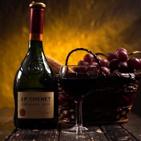 wine by Veronika Gallova - Food & Drink Alcohol & Drinks ( #red_wine, #still_life, #wine, #drink,  )