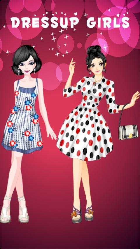 Cover Girl Dress Up- screenshot