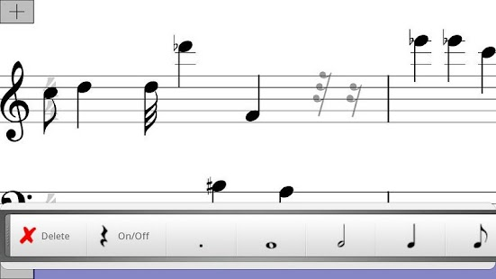 Musical Note Pad Free - screenshot thumbnail