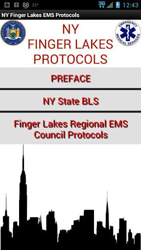 NY Finger Lakes EMS Protocols