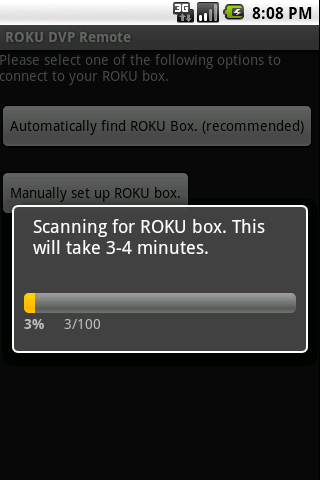 ROKU DVP Remote - screenshot