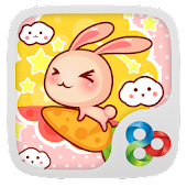 Rabbit GOLauncher Theme