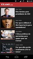 Screenshot of EXAME.com