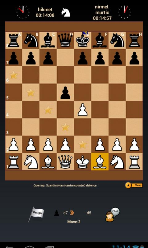 Black Knight Chess- screenshot