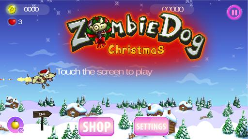 Zombie Dog: Christmas Runner