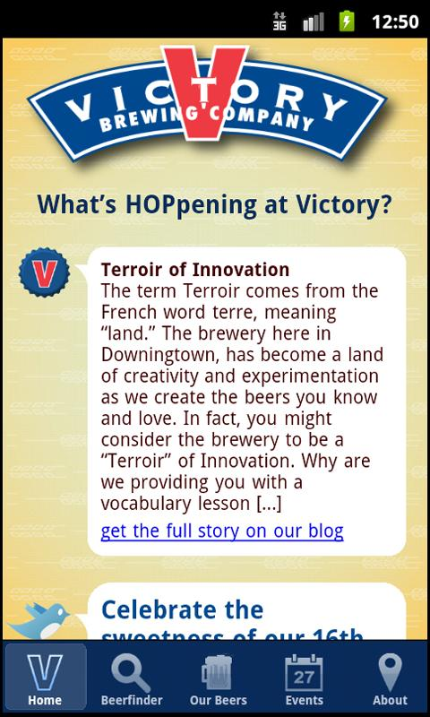 Victory Mobile - screenshot