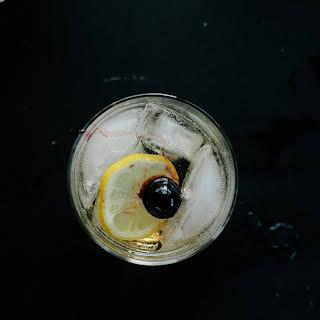 Bourbon Tonic.