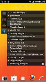 All-in-One Agenda widget Screenshot 3