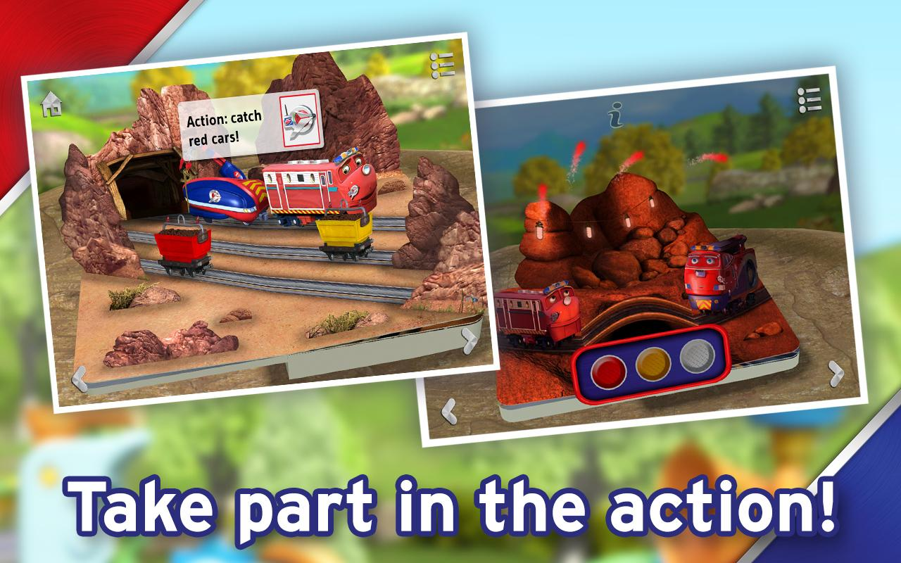 Chug Patrol: Ready to Rescue - Chuggington Book- screenshot