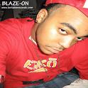 BLAZE ON logo