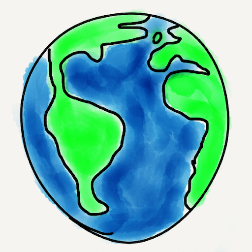 MapIt Social Networks LOGO-APP點子