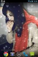 Screenshot of Loneliness Girl Live Wallpaper