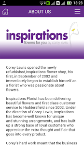 Inspirations Florist- screenshot thumbnail
