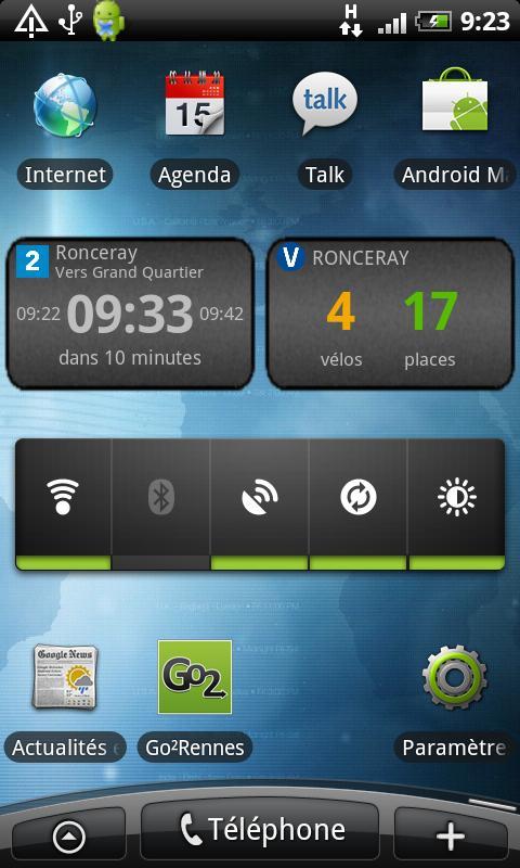 Go2 Rennes (bus, vélo, métro)– Capture d'écran