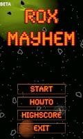 Screenshot of ROX Mayhem BETA