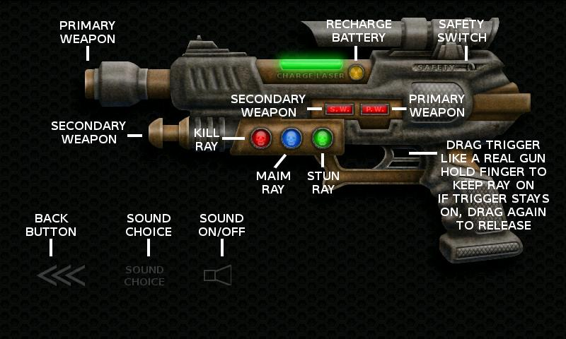 Laser Guns Steampunk Ray Guns- screenshot