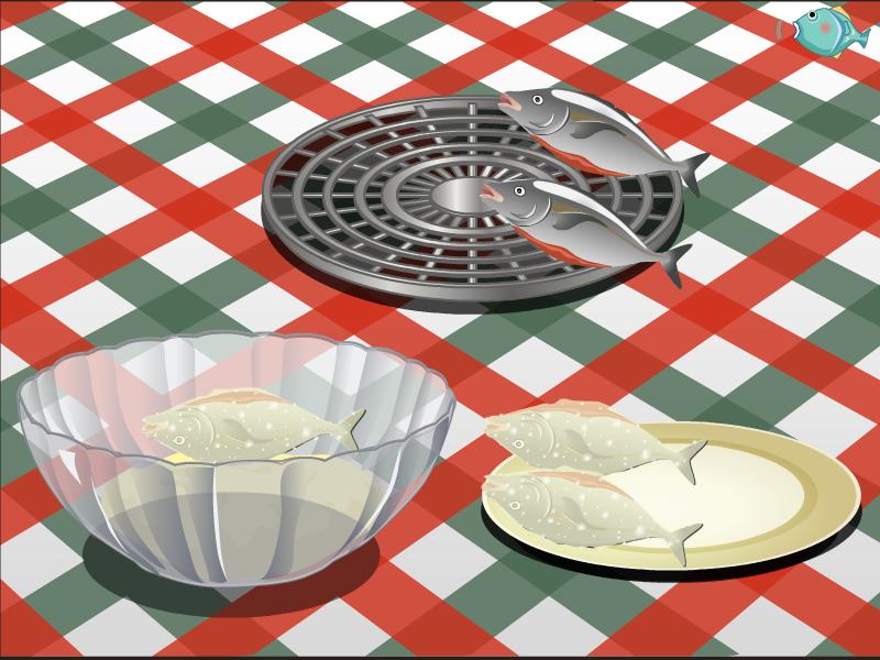 Finland Fish Cooking - screenshot